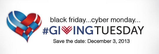 Black Friday + Cyber Monday=Giving Tuesday