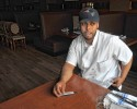 Robert Martinez, of Holyoke,  talks about his experience in the restaurant business. He is currently employed as a Sous Chef at Spoletos in Northampton.