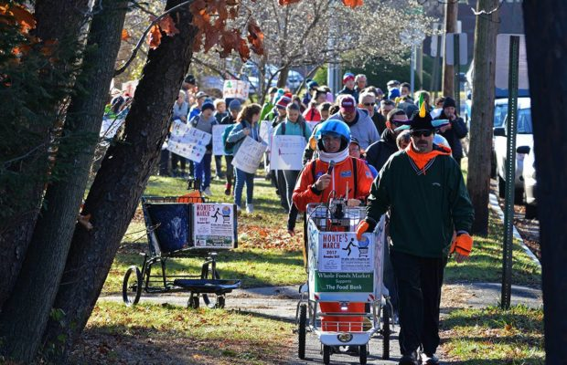 Monte's March for The Food Bank IX